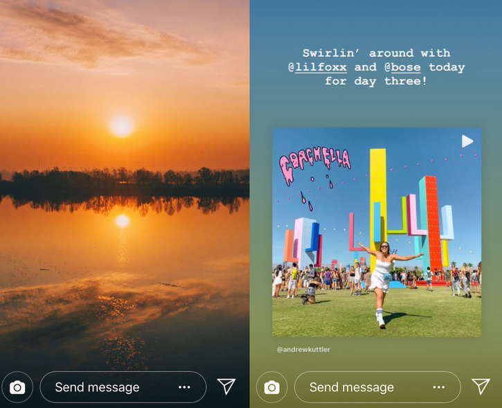 Template Instagram Story